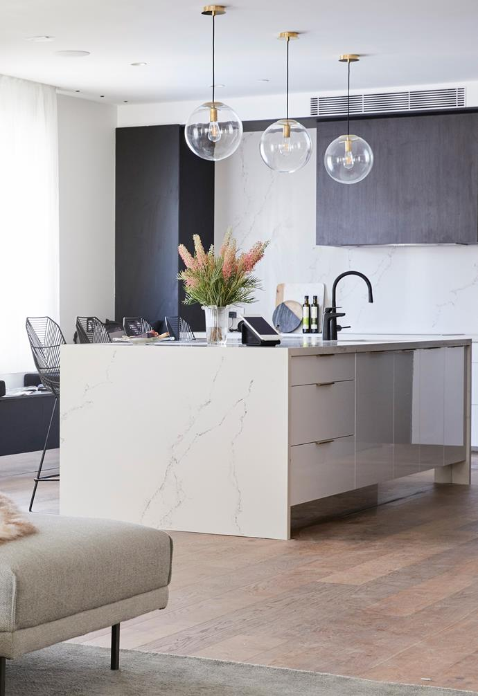 "In the [kitchen reveals](https://www.homestolove.com.au/the-block-2018-kitchen-reveals-18996|target=""_blank"") Hayden and Sara came second for their clever use of space and restrained styling."