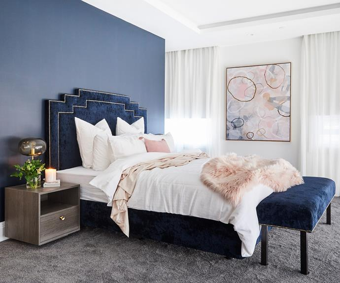 "After coming last for several rooms in a row, Hayden and Sara notched their first win with their [master bedroom](https://www.homestolove.com.au/the-block-2018-master-bedroom-reveals-18901|target=""_blank"") design."