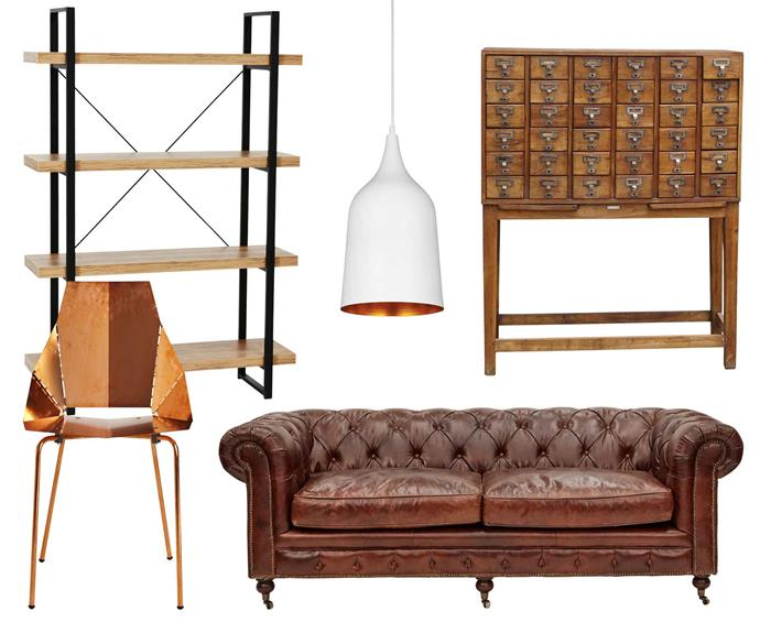 "**Contemporary vintage** Create a place where joy and nostalgia can live in harmony, inspired by the past and translated for now. **Get the look** (clockwise from left) Kirby bookshelf, $129, [Officeworks](https://www.officeworks.com.au/|target=""_blank""