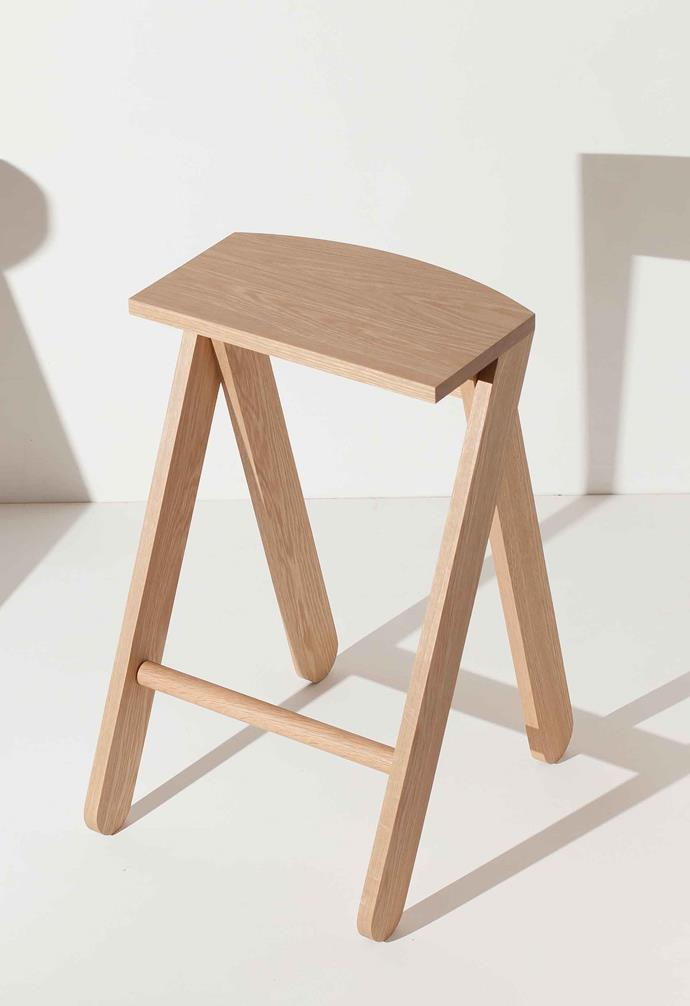 Another popular design, the Shirley Jacket stool champions the use of sustainable timber.