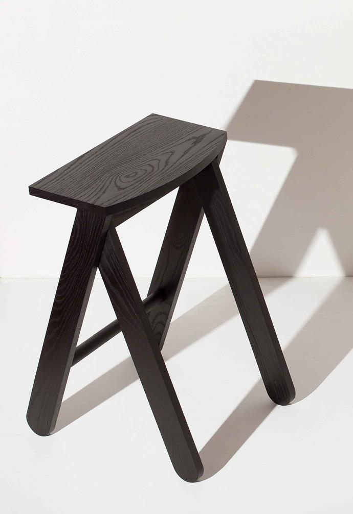 The Shirley Jacket stool can be custom painted in a wide range of colourways.
