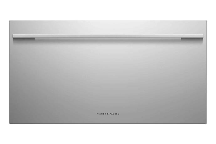 """Fisher and Paykel 123L Cool Drawer, $4199, [The Good Guys](https://www.thegoodguys.com.au/fisher-and-paykel-123l-cool-drawer-rb90s64mkiw1