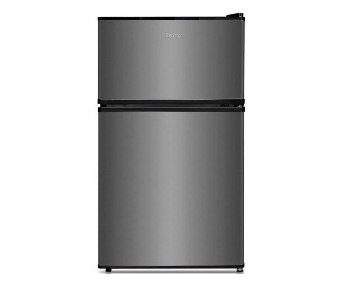 "Esatto 91L Bar Fridge EBF91S, $276, [Winning Appliances](https://www.winningappliances.com.au/p/esatto-91l-bar-fridge-ebf91s|target=""_blank""|rel=""nofollow"")."