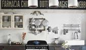 A vintage-style renovation refreshed this industrial-chic apartment