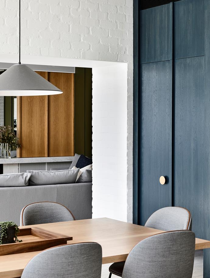 Behind the smart but unassuming doors lies a butler's pantry – one of Sarah's favourite features.