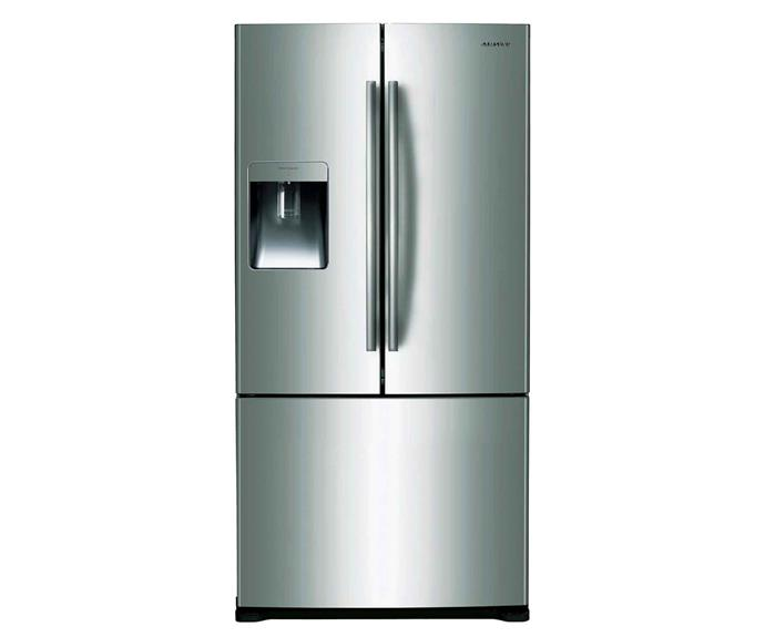 "Samsung SRF533DLS 533L French Door Fridge, $1585, [Appliances Online](https://www.appliancesonline.com.au/product/samsung-srf533dls-533l-french-door-fridge|target=""_blank""|rel=""nofollow"")."