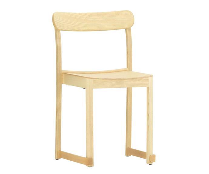 "Artek 'Atelier' chair, $695, [Anibou](http://www.anibou.com.au/|target=""_blank""|rel=""nofollow"")."