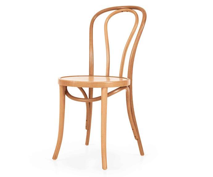 "No.18 chair, $275, [Thonet](http://thonet.com.au/|target=""_blank""|rel=""nofollow"")."