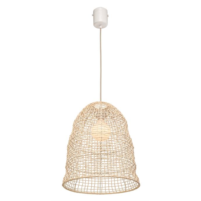 "Brilliant Lighting DIY plug in rattan [pendant](https://www.bunnings.com.au/brilliant-harbour-diy-plug-in-rattan-pendant_p0089054|target=""_blank""