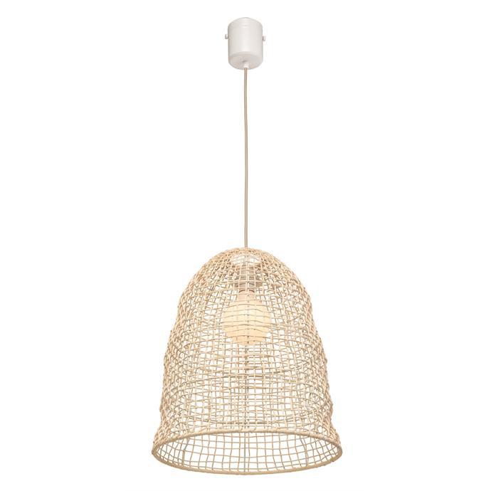 "Brilliant Lighting DIY plug in rattan [pendant](https://www.bunnings.com.au/brilliant-harbour-diy-plug-in-rattan-pendant_p0089054|target=""_blank""|rel=""nofollow"") $149."