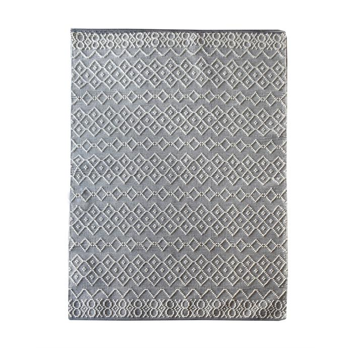 "Beckway 230 x 160cm grey/ivory hand woven [wool rug](https://www.bunnings.com.au/beckway-230-x-160cm-grey-ivory-hand-woven-wool-rug_p0101112|target=""_blank""