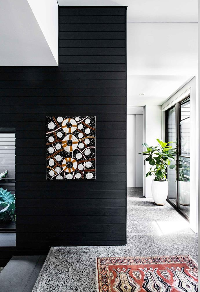 **Hallway** The artwork is by Melville Island artist Timothy Cook.