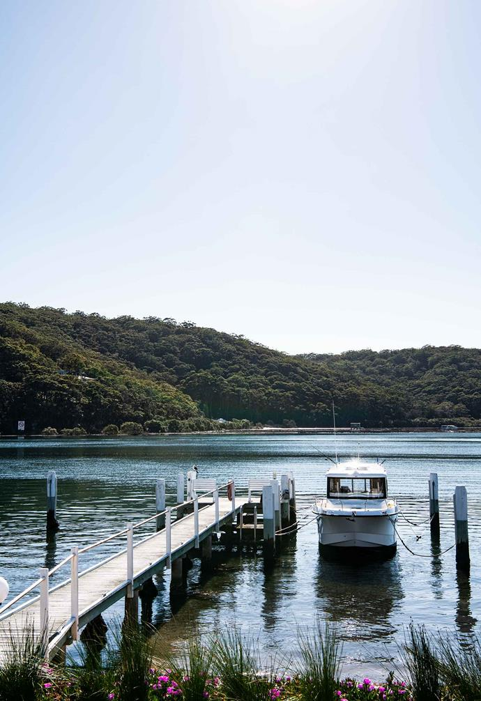 **Booker Bay** The home makes the most of stunning views of the water.