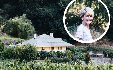 Inside Julie Bishop's family farm in the Adelaide Hills
