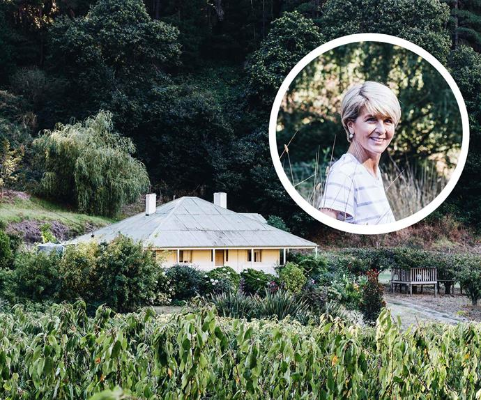 Julie Bishop family farmhouse Adelaide Hills