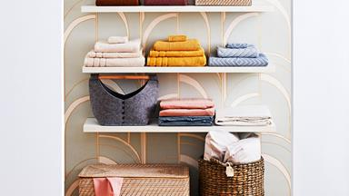 How to organise your linen cupboard