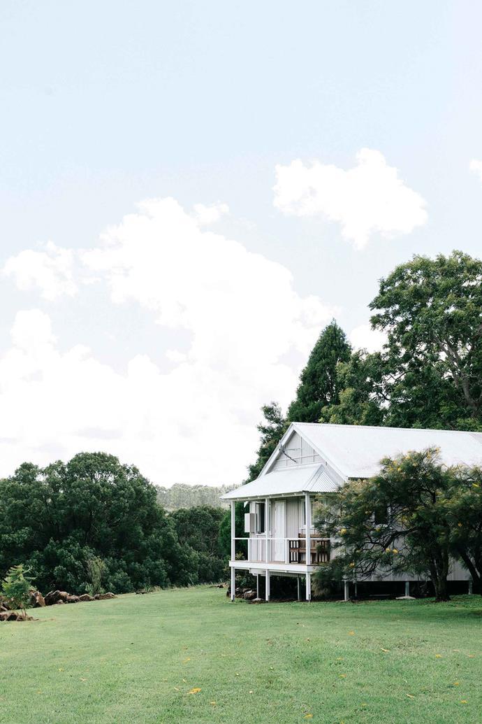 Jeanie and Edward's farmhouse.