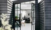 11 steel-frame door ideas to steal