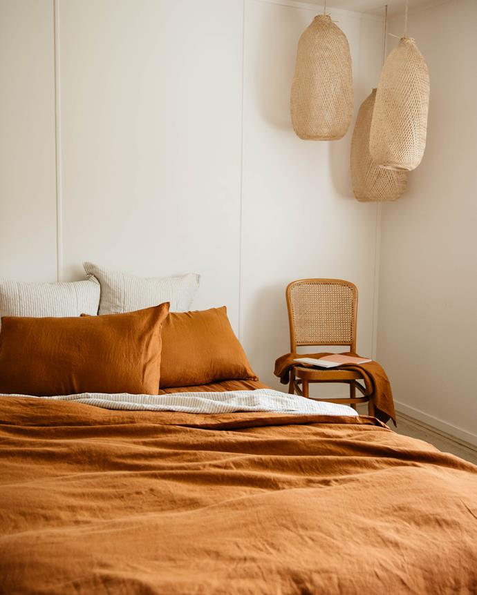 Earthy terracotta tones are right on trend.