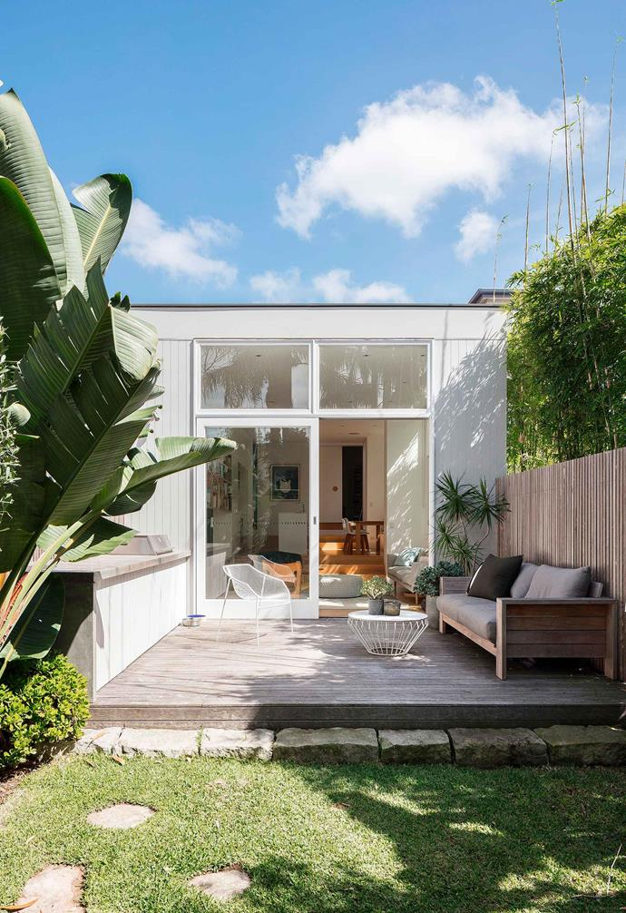 """This compact [multi-purpose garden](https://www.homestolove.com.au/small-space-multipurpose-garden-19199 target=""""_blank"""") features clever storage."""