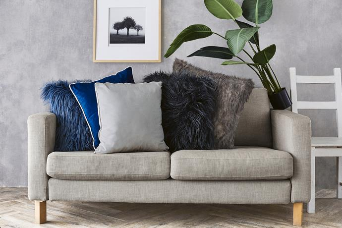Luxury Cushions, $19.99 each