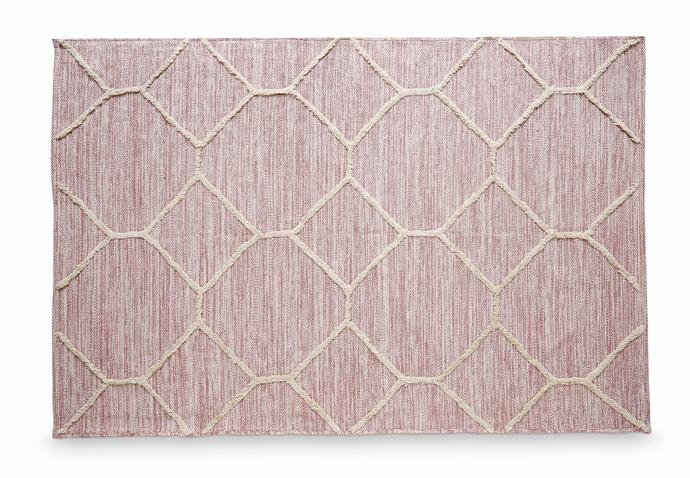 Woven Cotton Area Rug (four assorted designs), $49.99