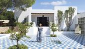 A modern Mediterranean-style beach house in Ibiza