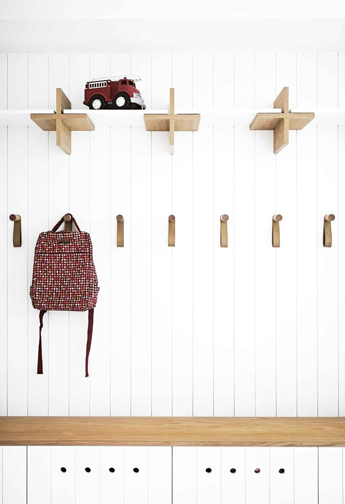 "**Family first** For busy families, it's hard to go past a [mudroom](https://www.homestolove.com.au/mudroom-ideas-20284|target=""_blank"") if you can swing it. This example by [Steven Whiting](https://whitingarchitects.com/