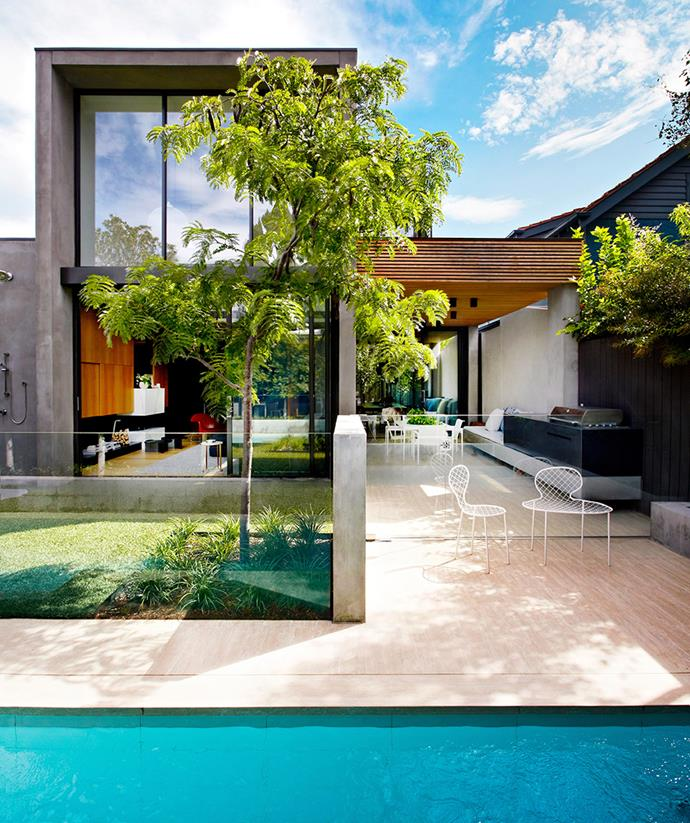 Built from scratch, the details of this contemporary home were perfected with the help of a knowledgeable and well-experienced builder. *Image: Armelle Habib / bauersyndication.com.au*