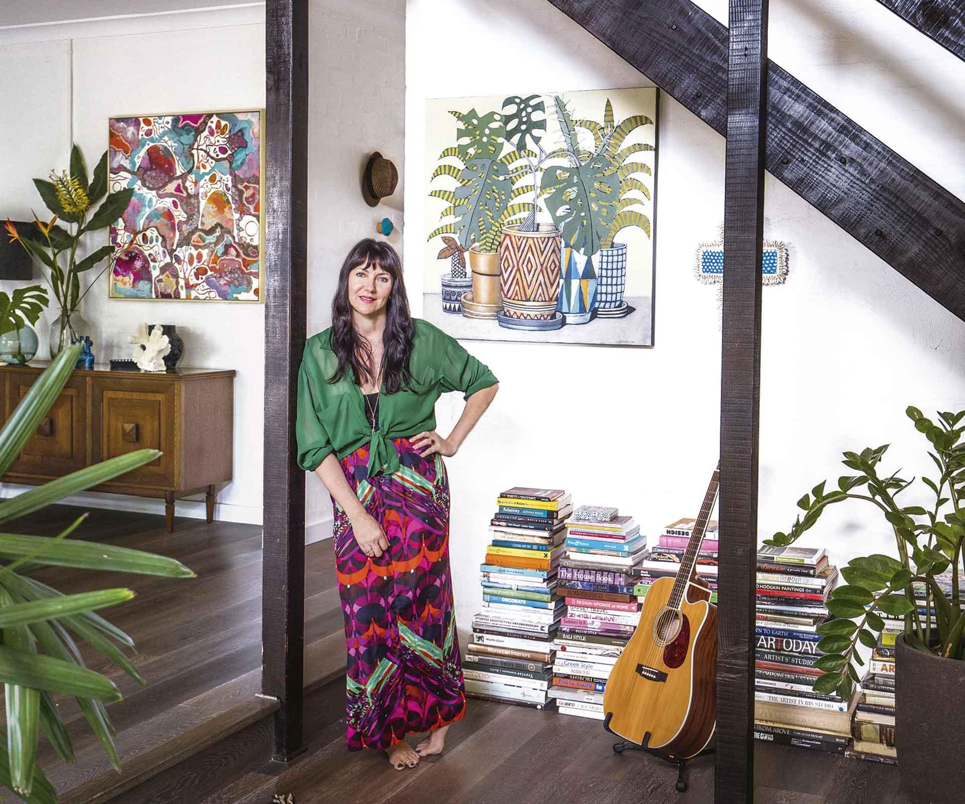 Artists Rosetta and John Santucci's Byron Bay bohemian retreat | Inside Out
