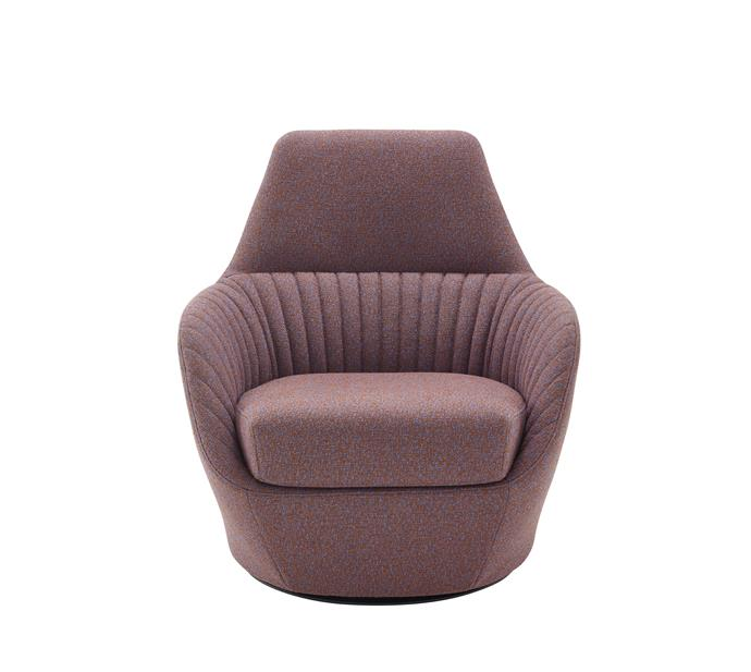 "Ligne Roset Amédée Swivelling Armchair, from [Domo Collections](https://www.domo.com.au/product/amedee-swivelling-armchair/|target=""_blank""