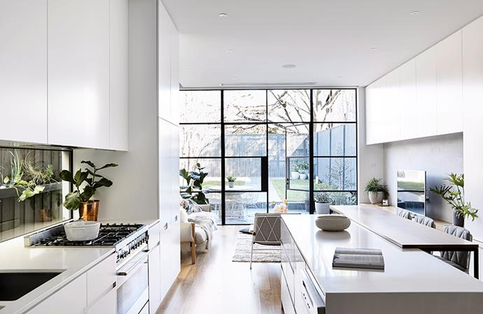 This modern home boasts a clever floor plan that leaves it feeling open and spacious. *Image: Derek Swalwell / bauersyndication.com.au*