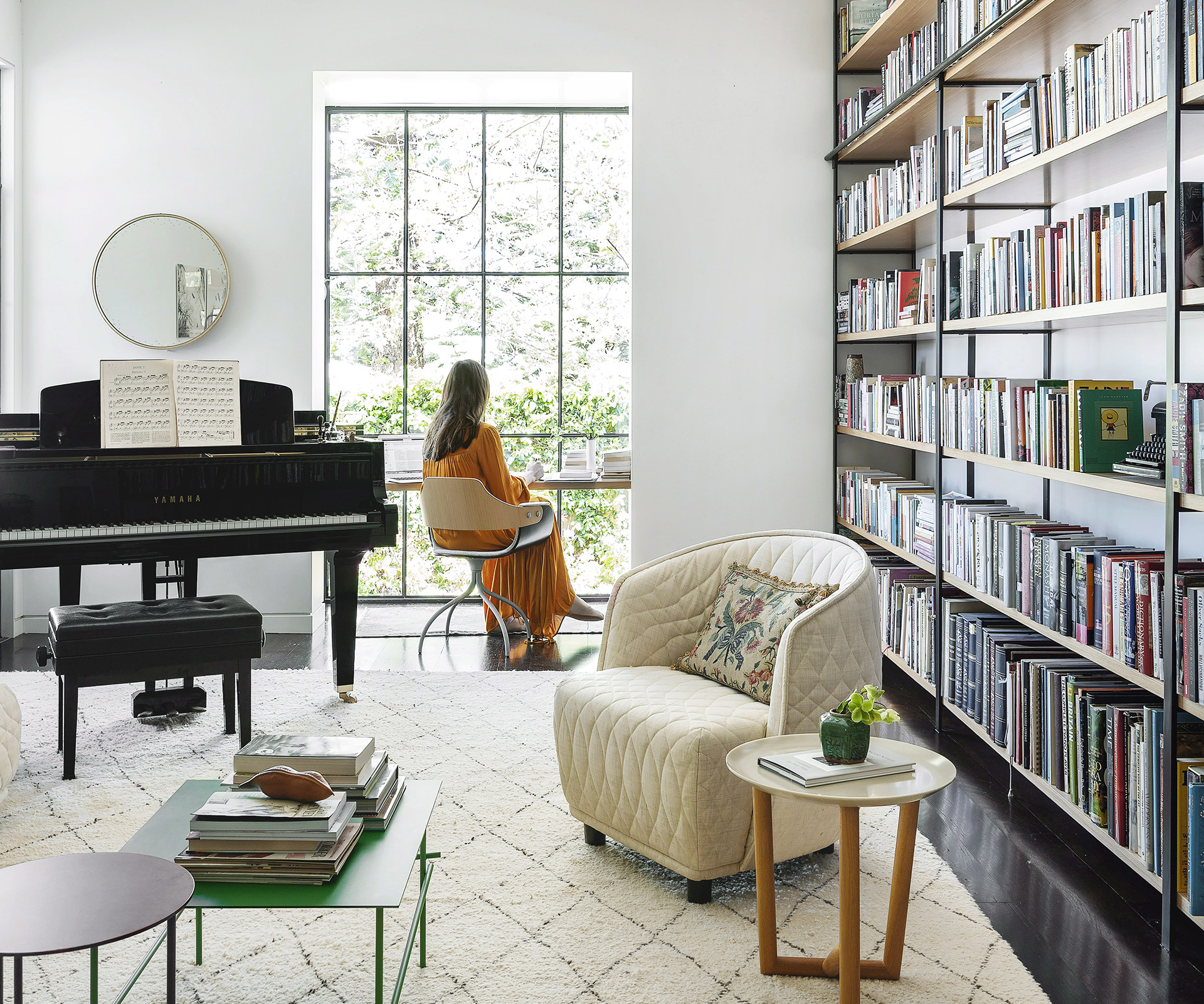 How to create a library in your home