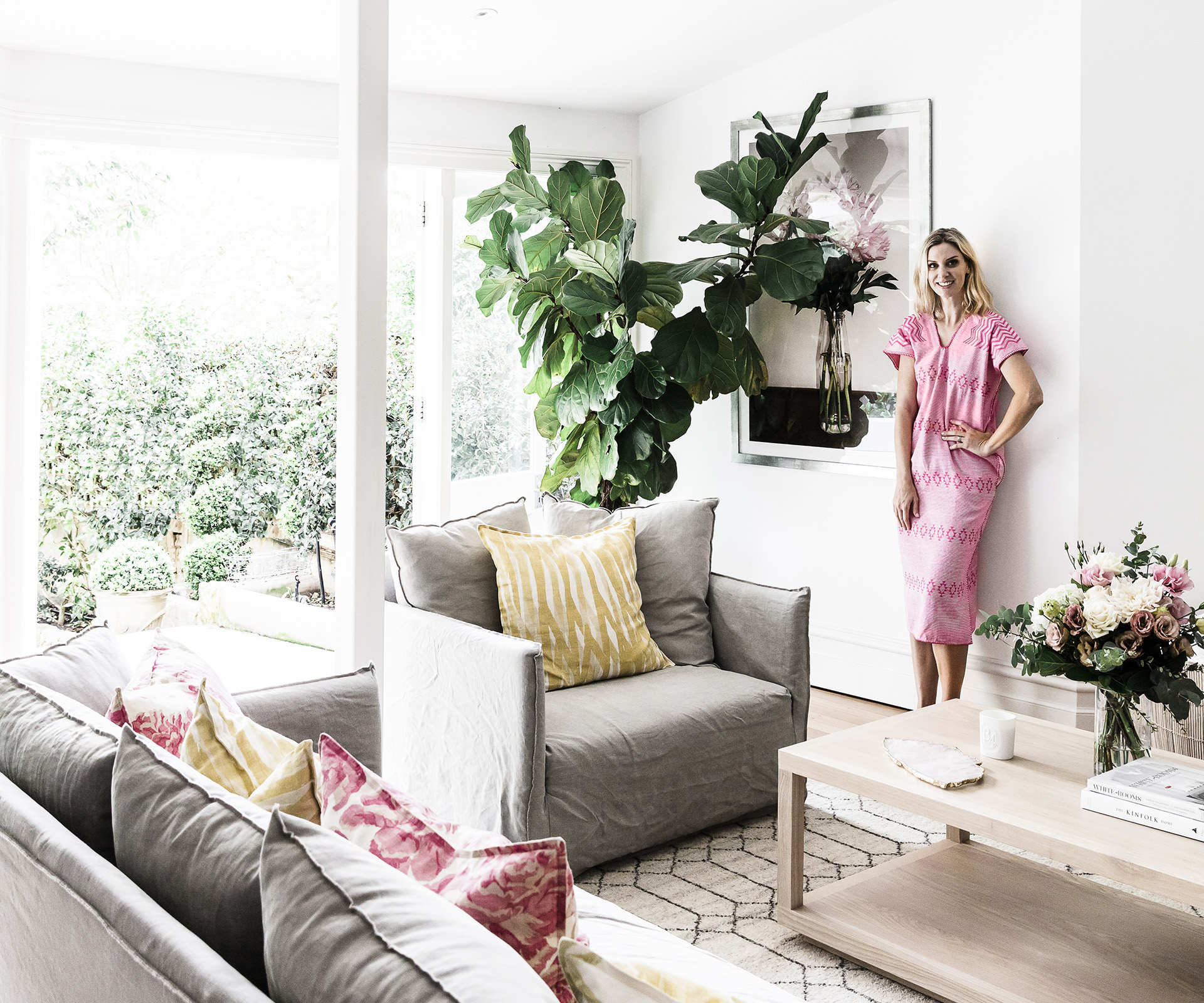 At home with Georgie Abay, founder of The Grace Tales | real living