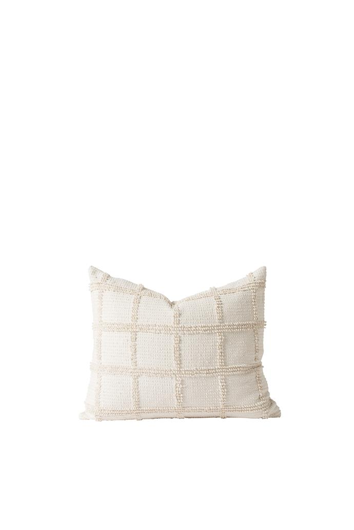 """Iggy cushion cover in Natural, $59.90, [Paper Plane](https://www.paperplanestore.com/collections/citta-design/products/iggycushion-natural?variant=21626498941013