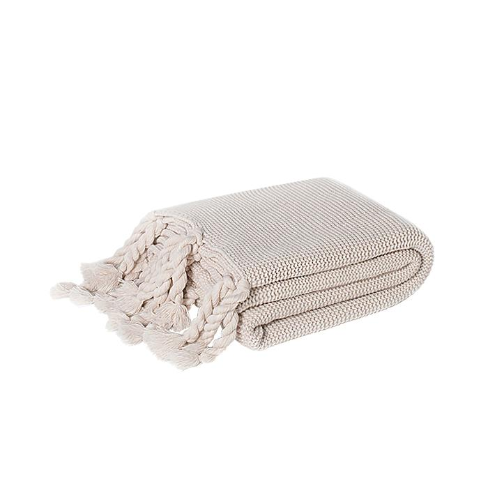 """Miranda throw in Oatmeal, $79.90, [The Essence Of Home](https://www.theessenceofhome.com.au/collections/textiles/products/miranda-throw-in-oatmeal