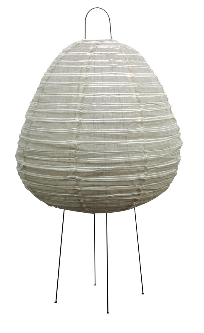 """Nendo lamp in Stripes, $339 for large, [MRD Home](https://mrdhome.com.au/product/nendo-lamp-large-stripes/