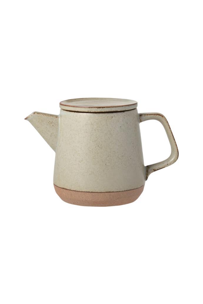 "Kinto 'Clk-15' teapot in Beige, $129, [Milligram](https://milligram.com/kinto-clk-151-teapot-500ml-beige|target=""_blank""|rel=""nofollow"")"