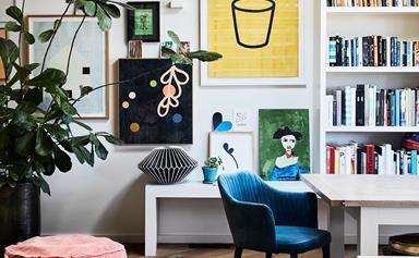 10 homes where art steals the show
