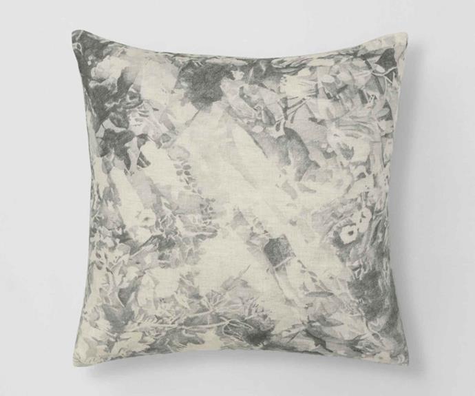 "Andover cushion, $79.95, [Sheridan](https://www.sheridan.com.au/|target=""_blank""|rel=""nofollow"")."