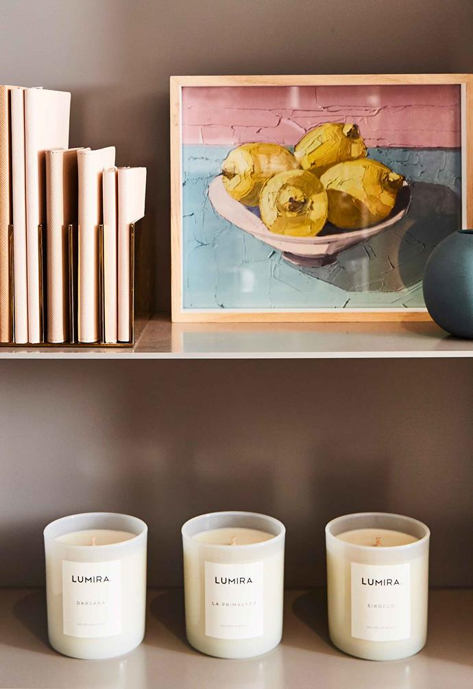 Keeping your lit candles away from draughty spots in the home will prevent uneven burning.
