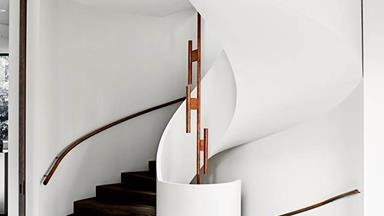 10 curved staircase design ideas