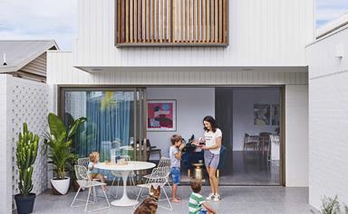 A contemporary house in Geelong that was built in just five months