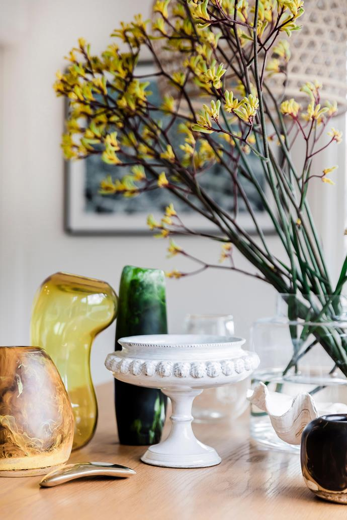 Vintage items add character and unique style to your interior.
