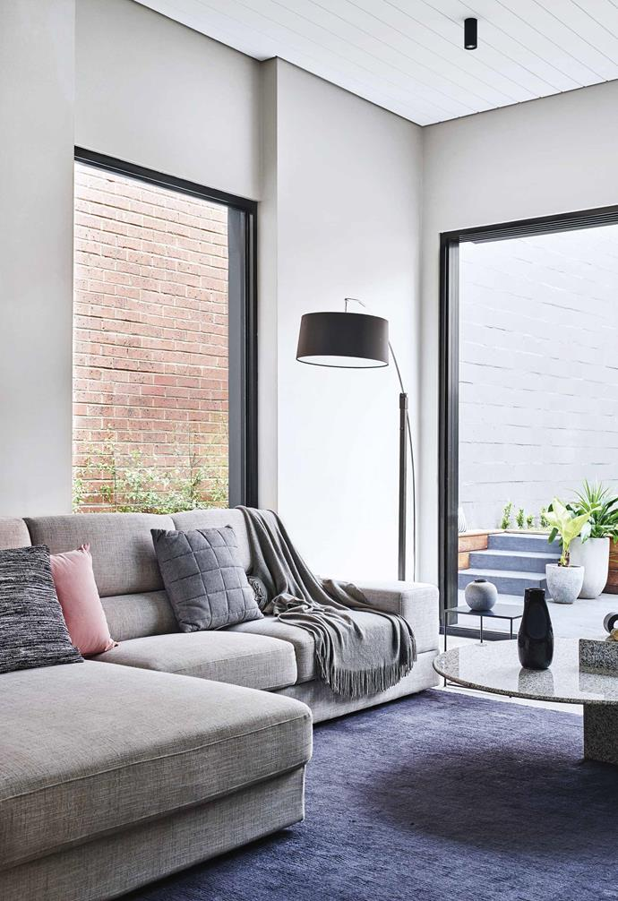A sectional sofa can transform an open-plan living space.