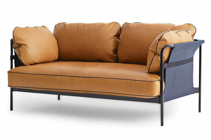 """**Two seater** 'Can' sofa, $7063, [Hay](http://hayshop.com.au/