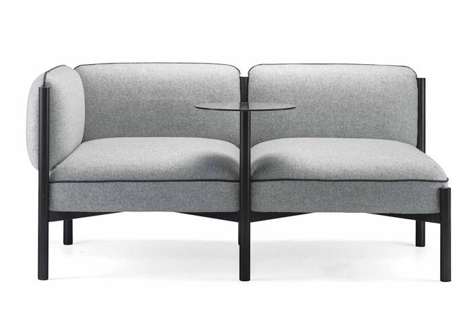 "**Two seater** Nau Design 'Converse' sofa, from $5000, [Cult](http://cultdesign.com.au/|target=""_blank""