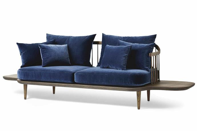 "**Two seater** &Tradition 'Fly' sofa, from $8500, [Great Dane](https://greatdanefurniture.com/|target=""_blank""