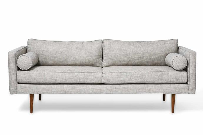 "**Two-and-a-half seater** 'Monroe' sofa, $1699, [West Elm](http://www.westelm.com.au/|target=""_blank""