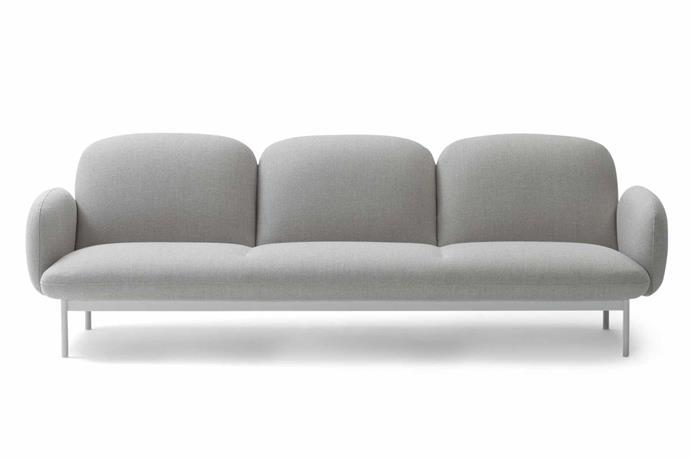 "**Three seater** 'Camper' sofa, $5951, [Jardan](https://www.jardan.com.au/|target=""_blank""|rel=""nofollow"")."